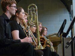 Student performing in Parish Church ©Amy Liptrott