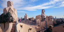 Casa Mila rooftop in Barcelona