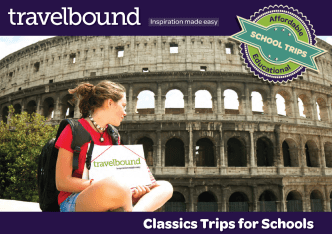 Travelbound Classics brochure cover