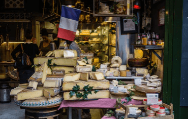 French market stall