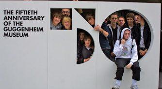 Group at Guggenheim New York
