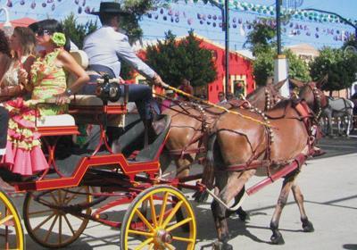 Malaga feria coche caballo 400280