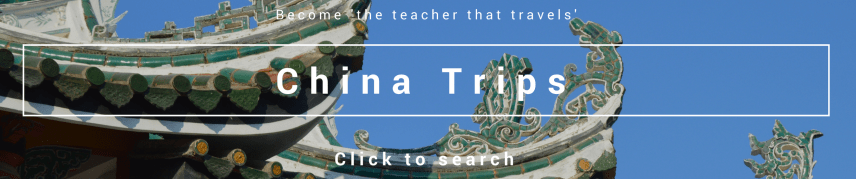 Find school trips to china