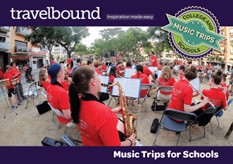 Travelbound music brochure
