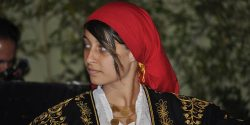 Traditional Greek dancer