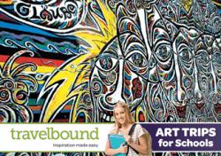 Travelbound Art brochure cover
