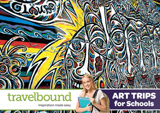 Travelbound Art brochure cover