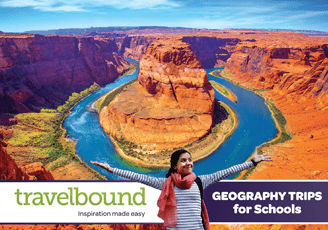 Travelbound Geography brochure cover