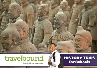 Travelbound History brochure cover
