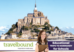 Travelbound Normandy brochure cover