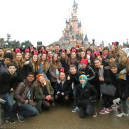 students at Disneyland