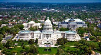 Washington DC View of capitol