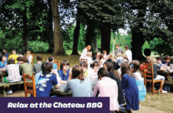 BBQ at Château du Molay