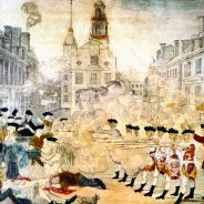 Sites of the Boston Massacre and Boston Tea Party