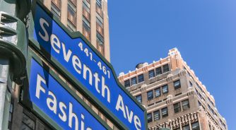Fashion district New York