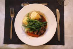 Food at Chateau du Molay