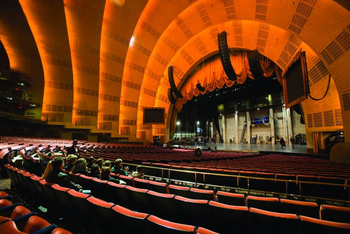Radio City stage tour