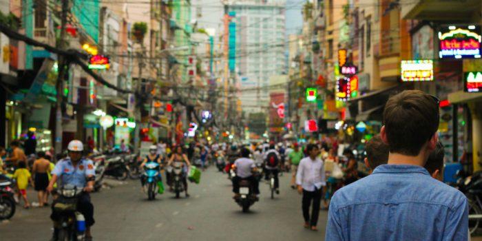 Student in Vietnam
