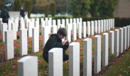 War graves student