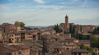 Tuscany town