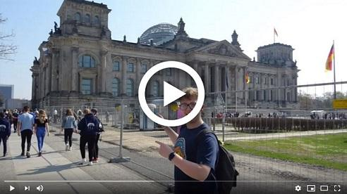 Video of a Berlin and Krakow student trip for history