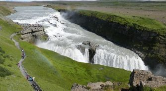 Iceland Waterfall Geography Trip