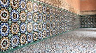 tiles marrakech
