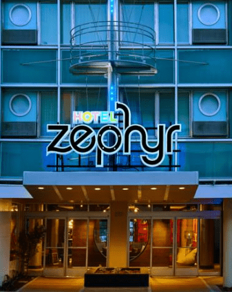 Image displaying the Hotel Zephyr