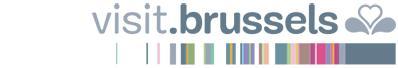 Visit.Brussels logo