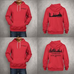 Travelbound hoodies featuring USA cityscape designs