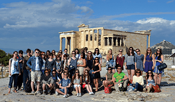 Students in Athens