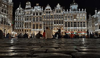 Grand Place at night, Brussels