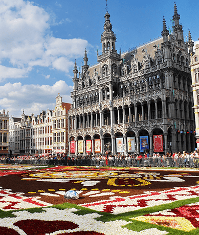 Flowers at Grand Place