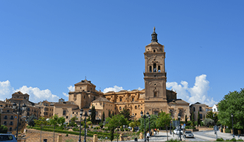 View of church, Andalucia