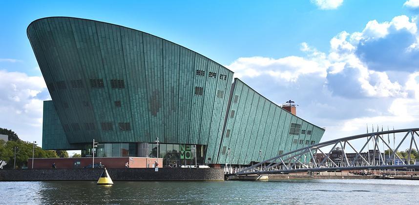 NEMO science centre in Amsterdam