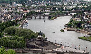 Koblenz on the Rhine