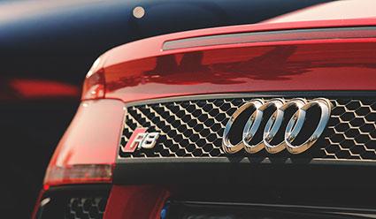 Audi R8 red car