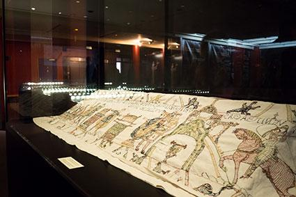 Bayeux Tapestry exhibit