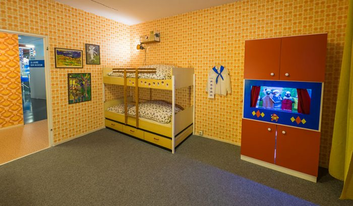 Room exhibition at the DDR Museum