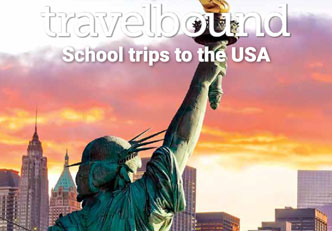 USA school trips mini brochure