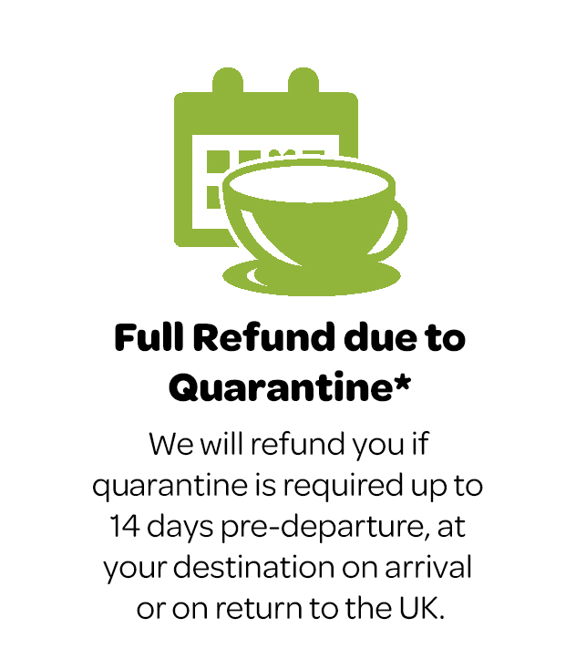 Refund due to quarantine