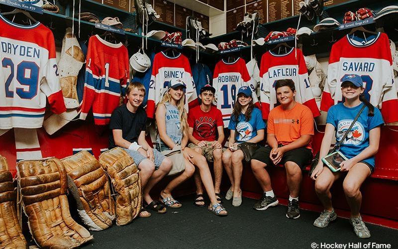 Hockey Hall of Fame, Tourism Toronto (Katherine Holland, 2016)